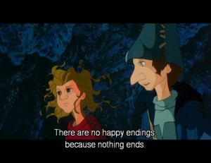 Quote from The Last Unicorn (1982). I don't know this movie, but I ...