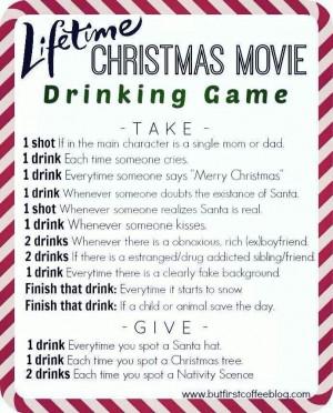 Xmas drinking game