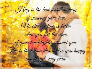Sweet Hug Quotes Html