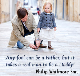 Philip Whitmore Snr. on fatherhood
