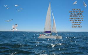 Inspirational Large Bible Verses Sailing Photo 17 of 27