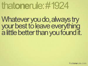Always Try Your Best Quotes Always try your best to