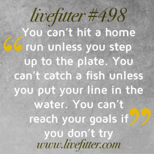 Step up to the plate.....
