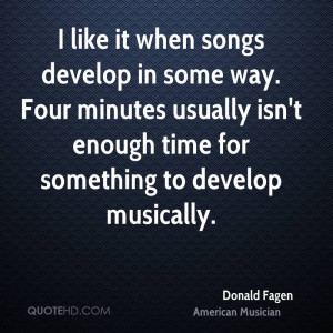Donald Fagen Quotes