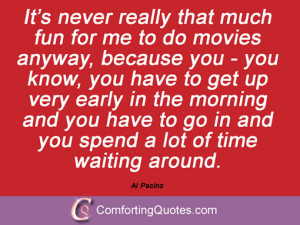 Quotes And Sayings From Al Pacino