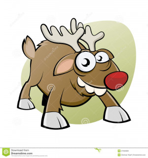 More similar stock images of ` Funny christmas reindeer `