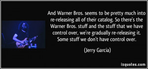 Warner Brothers quote #2