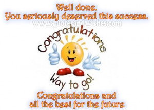 Congratulation wishes cards on promotions Appreciations On project