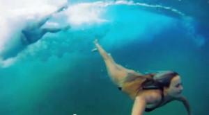 Bethany Hamilton And Alana Blanchard Surfing
