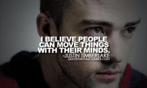 Inspirational Quotes From The Top Musicians #6 – Justin Timberlake