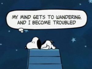 truth quotes tired peanuts Charlie Brown snoopy can't sleep