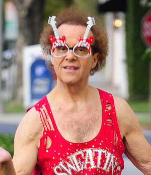 Richard Simmons Ready Get