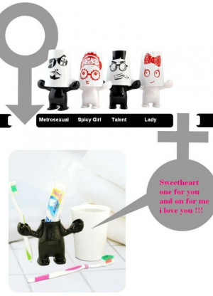Funny Style Toothbrush Holder Cup With