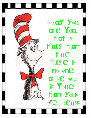 More Freebies: Dr. Seuss