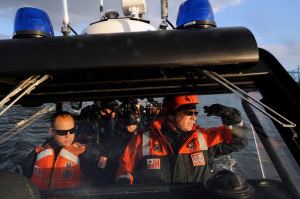 Maritime Safety and Security Team 91105 patrols the San Francisco Bay ...
