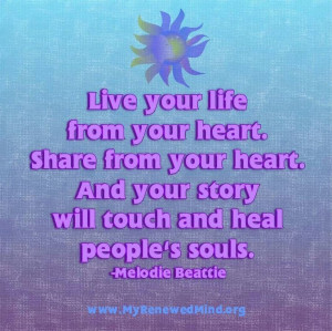 Touch souls....
