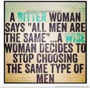 Wise woman: Bitter Woman
