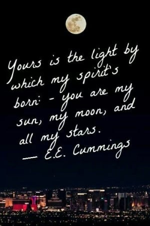 Sun, Moon and Stars... #Quote #Love