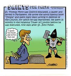 St. Thomas More Fun Fact
