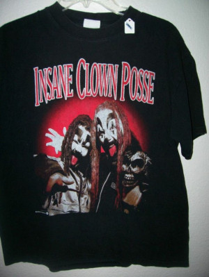 Insane clown posse tee shirt, Sz. Large, unisex