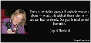 Hidden Agenda Quotes