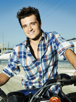 ... Josh Hutcherson's recent photo shoot as well as some new quotes with