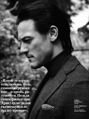 Luke Evans InStyle Man Russia Photo October 2014 005 Luke Evans Cover ...