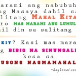 tagalog love quotes and sayings