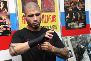 Photos & quotes: Miguel Cotto workout session miguel cotto workout5 ...