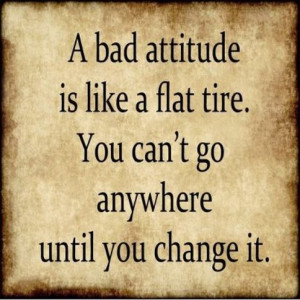 Quotes- Addict – Addicted – Quote - A bad attitude is like ...