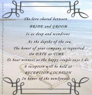 Unique+Beach+Wedding+Invitations | Unique Beach Wedding Invitation ...