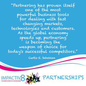 Great Partnership Quotes Business