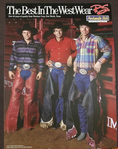 Cody Lambert, Lane Frost, Tuff Hedeman More