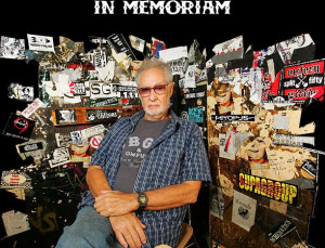 The punk rock community lost a great provider Tuesday, August 28th ...