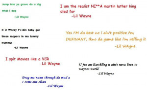 sexii_thang13's Bucket / lil wayne quotes