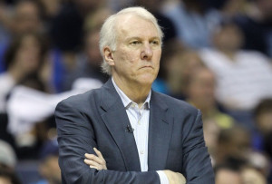 Another great coach-Gregg Popovich of the San Antonio Spurs....who ...