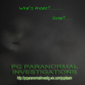 pc paranormal investigations pcpi is a paranormal research and ...