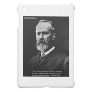 William James quot itude quot Wisdom Quote Gifts amp Card Case For The ...