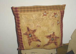 Praise Him Pillow