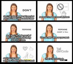 Tall Girl Code