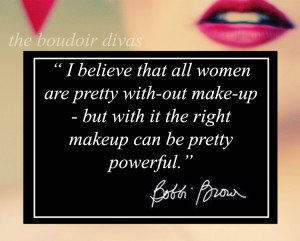 boudoir divas make-up quote