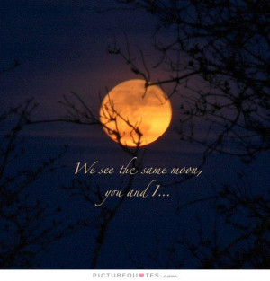 Long Distance Relationship Quotes Moon Quotes
