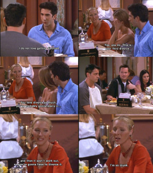 drunk, friends, phoebe, ross, sutyimo