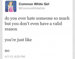 common white girl on Tumblr