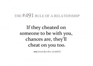 Ridiculously true...so don't be a homewrecker for some douche who will ...