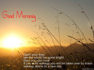 Its A Beautiful Day Quotes Wish u a lovely morning always