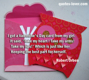 ... Quotes , Valentine Picture Quotes , Valentine's Day Picture Quotes