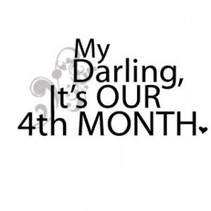 Happy 4 Month Anniversary Quotes Photos