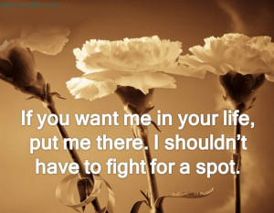 if you dont want me in your life quotes