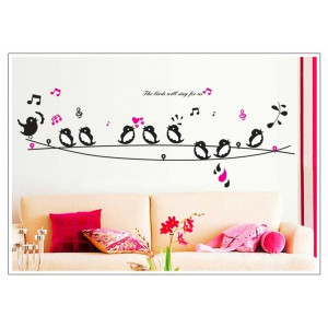 Home Wall Stickers > The Birds Will Sing For Us Wall Sticker